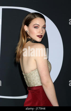 Los Angeles, CA, USA. 2nd Feb, 2017. LOS ANGELES - FEB 2: Violett Beane at the ''Fifty Shades Darker'' World Premiere - Stock Photo
