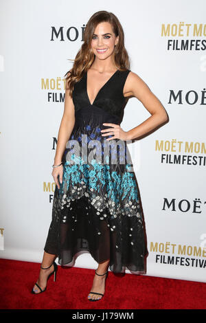 West Hollywood, CA, USA. 3rd Jan, 2017. LOS ANGELES - JAN 4: Jillian Murray at the 2nd Annual Moet Moment Film Festival - Stock Photo