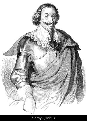 Gottfried Heinrich Graf zu Pappenheim, 1594 - 1632, a general in the Thirty Years' War for the Catholic League - Stock Photo