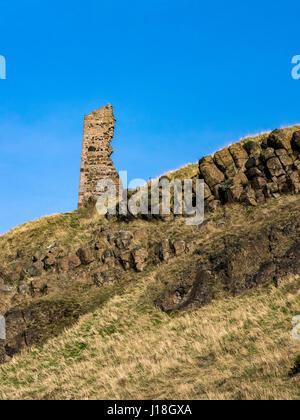 St Anthony's Chapel Edinburgh Scotland - Stock Photo