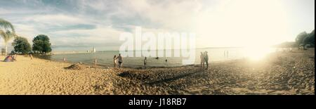 Port Dover beach - Stock Photo
