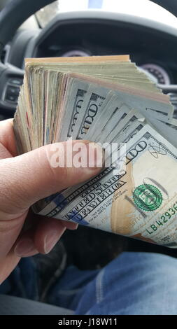 Cold Hard Cash - Stock Photo