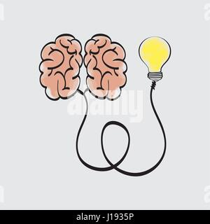 Idea design. sketch icon. White background , vector - Stock Photo