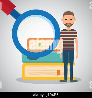 Education design. University icon. Colorfull and isolated illust - Stock Photo