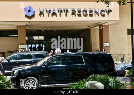 Hyatt Regency Savannah, Georgia - Stock Photo