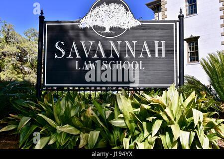 Savannah Law School - Stock Photo