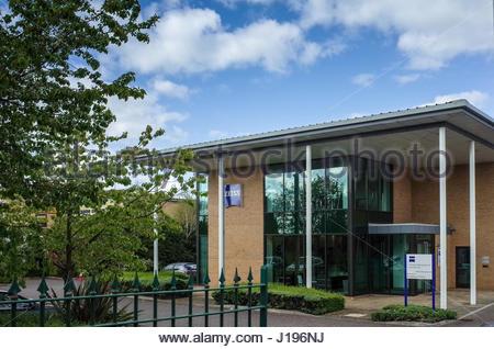 Carl Zeiss Microscopy Ltd, Coldhams Lane, Cambridge UK - Stock Photo