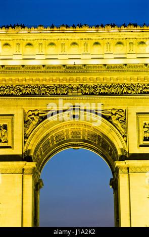 'Arc de Triomphe in Paris, France.' - Stock Photo