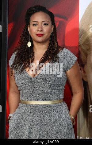 Los Angeles, California, USA. 18th Apr, 2017. Tracie Thoms at arrivals for UNFORGETTABLE Premiere, TCL Chinese Theatre, - Stock Photo