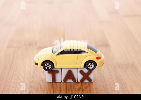 Income and Taxes - Stock Photo