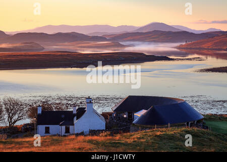 Callanish Visitor Centre on the Isle of Lewis - Stock Photo
