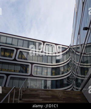 Modern Architecture Germany modern architecture in stuttgart germany stock photo, royalty free