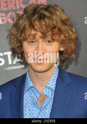 Los Angeles, CA, USA. 20th Apr, 2017. Bruce Langley at arrivals for AMERICAN GODS Series Premiere on Starz, ArcLight - Stock Photo