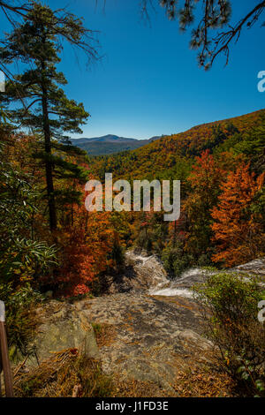 smoky mountains North Carolina - Stock Photo