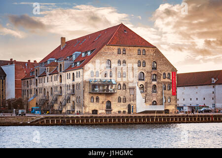 COPENHAGEN, DENMARK - DECEMBER 24, 2016. The Danish architecture center, which is housed in a restored shipyard - Stock Photo