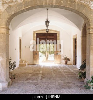 Rustic entry way. - Stock Photo