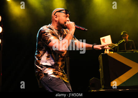 O2 Forum Kentish Town, London, UK 21st April 2017 Sean Paul, Sean Paul performing in concert at the O2 Forum Kentish - Stock Photo