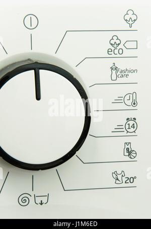 Washing machine dials Stock Photo: 9293932 - Alamy