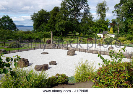 Lauriston Castle Scotland Edinburgh. Japanese Garden; Designer