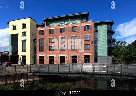 national centre for craft and design sleaford town centre lincolnshire uk stock photo 7838