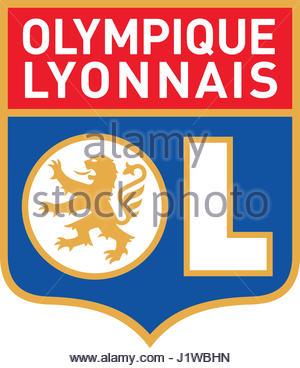 Olympique Lyonnais france soccer - Stock Photo
