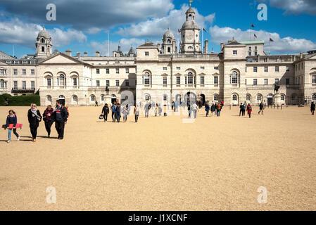 Horse Guards Parade, London, United Kingdom - Stock Photo