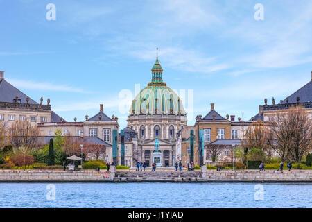 Frederik's Church, Copenhagen, Denmark, Scandinavia - Stock Photo