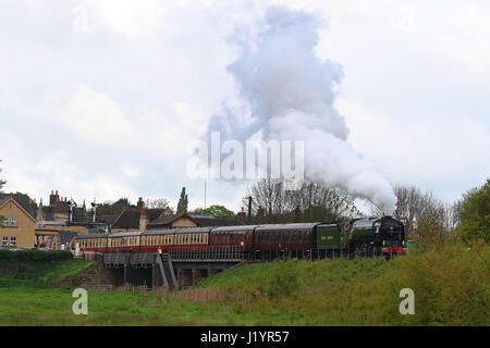 British railways class a1 60163 39 tornado 39 steam locomotive for J bathrooms westcliff
