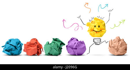 Idea and innovation concept - Stock Photo