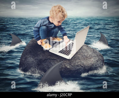 Difficulty Internet concept - Stock Photo