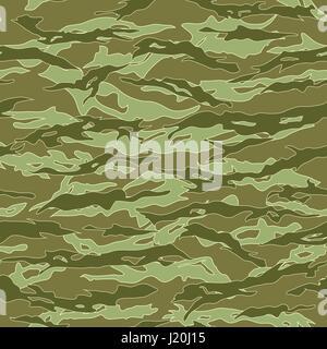 Jungle Tiger stripe Camouflage seamless patterns