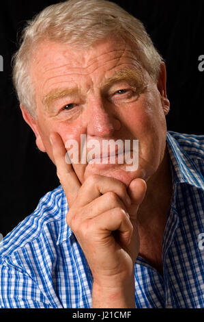 Sir Paddy Ashdown photographed at his home in Somerset, UK - Stock Photo