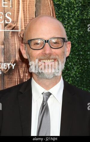 Los Angeles, CA, USA. 22nd Apr, 2017. Moby at arrivals for The Humane Society Of The United States LA Benefit Gala - Stock Photo