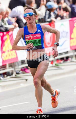 St James' Park, London, UK. 23rd Apr, 2017. Thousands take part in the 37th London Marathon Credit: Alan Fraser/Alamy - Stock Photo