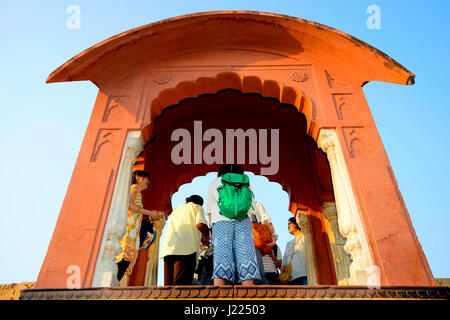 Major Tourist Spots in Jaipur, Rajasthan, India - Stock Photo