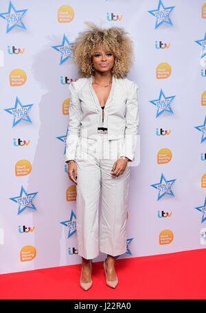 Fleur East attending Good Morning Britain's Health Star Awards, held at the Rosewood Hotel in London. PRESS ASSOCIATION - Stock Photo
