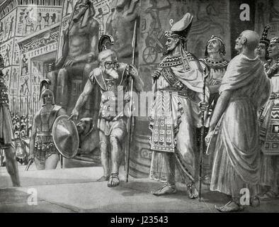 Agesilaus II (c. 444- c. 360 B.C.), king of Sparta (400-360 B.C. ...