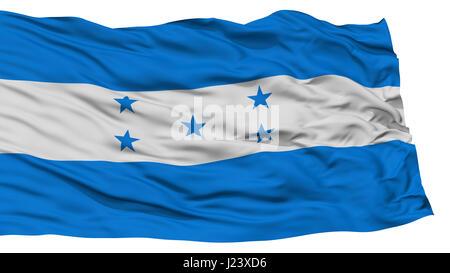 Isolated Honduras Flag - Stock Photo