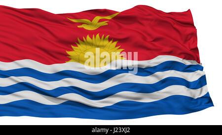 Isolated Kiribati Flag - Stock Photo