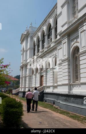 Sri Lanka, Colombo, National Museum aka Sri Lanka National Museum, largest museum in Sri Lanka. Historic museum - Stock Photo
