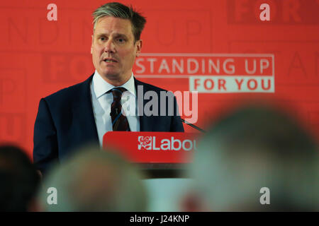 Westminster. London, UK. 25th Apr, 2017. Keir Starmer MP. Keir Starmer MP, Labour's Shadow Secretary of State for - Stock Photo