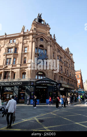 Hippodrome Casino, Leicester Square, London, England, UK, Europe - Stock Photo