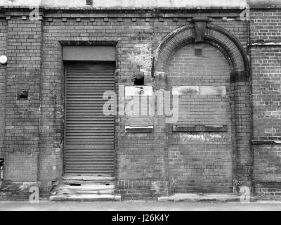 ... old abandoned building with shutter and bricked up doorway - Stock Photo & abandoned building with shutter and bricked up doorway Stock Photo ... Pezcame.Com