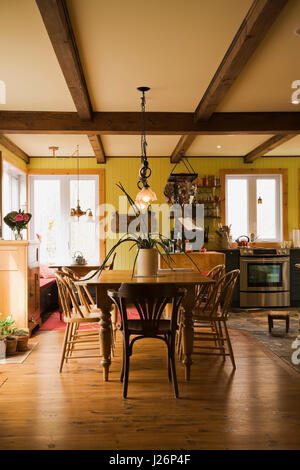 Inside old country cottage kitchen stock photo royalty for Html table inside th