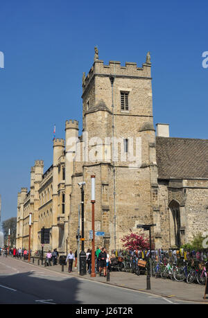 St Botolph's Parish Church, Trumpington Street, Cambridge, England, UK - Stock Photo