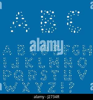 Creative English alphabet - Stock Photo