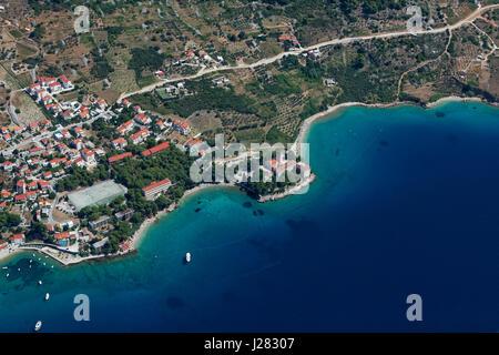 Bol on Brač island, Croatia - Stock Photo