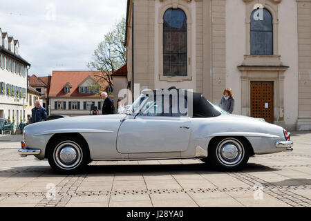 ludwigsburg germany april 23 2017 ford oldtimer car. Black Bedroom Furniture Sets. Home Design Ideas