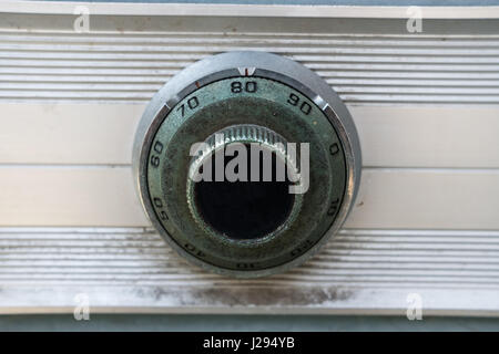 Close up Vintage Safe lock code on safety box bank.- (Selective focus) - Stock Photo