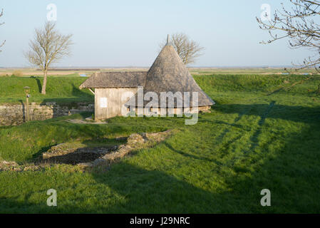 France, South-Western France, Hiers-Brouage, ice house - Stock Photo